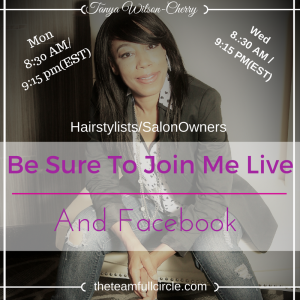 Be Sure To Join Me Live
